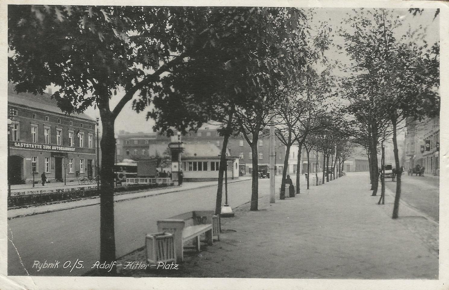 Rybnik - Adolf-Hitler-Platz