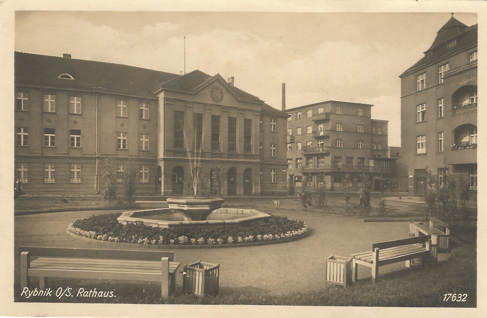 Rybnik - Rathaus