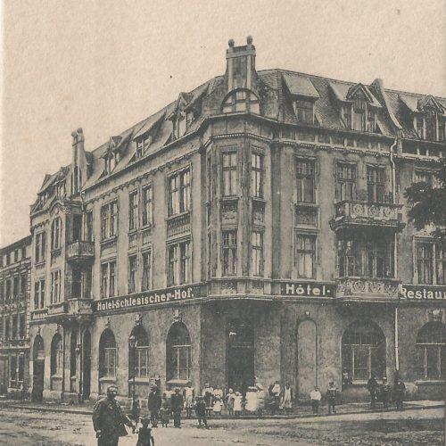 Pocztówki Rybnik - Schlesische Hof (Rybnik do 1945 r)